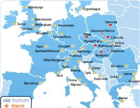 cheap flights link spain  central europe cheap flights