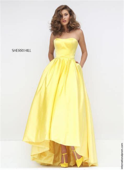 Ylw Dress sherri hill 50226 prom dress prom gown 50226
