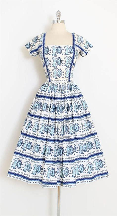 Dress Cotton Si 1188 6415 best images about vintage fashion on 50s dresses 1950s dresses and