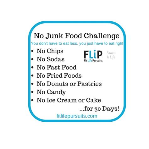 21 Day Junk Food Detox by 17 Best Ideas About Junk Food Challenge On