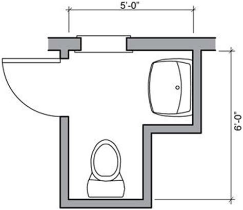 square bathroom floor plans half bath floor plan ideas 24 square foot half bath with
