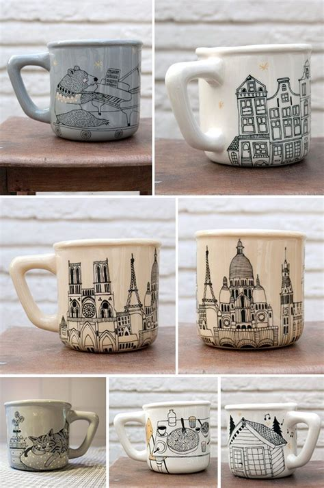 cool mug drawings www imgkid com the image kid has it cool drawing inspiration for porcelain paint markers