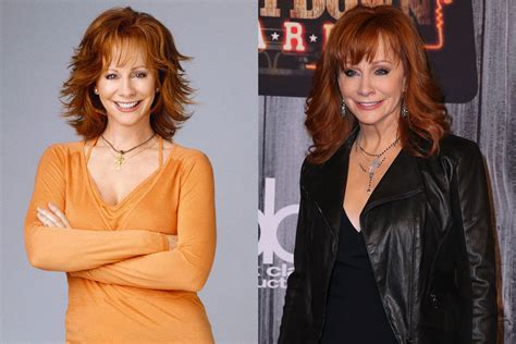 reba cast photos see the cast of reba 15 years later