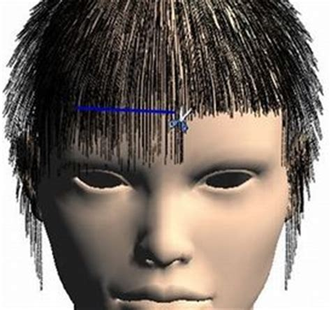 hair cut simulation projects