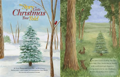 a look inside the story the little christmas tree told
