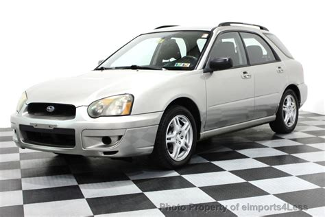 all car manuals free 1999 subaru impreza transmission control 2005 used subaru impreza wagon impreza 2 5rs awd wagon 5 speed manual trans at eimports4less