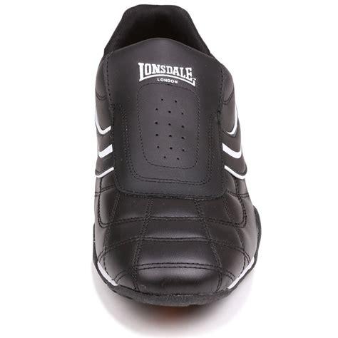 Sepatu Lonsdale Camden Slip On Mens Black White lonsdale s camden slip on sneakers bob s stores