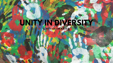 rangoli theme unity in diversity three vivid images of unity in diversity tim challies