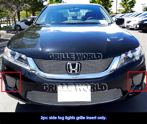 2012 honda civic coupe fog light cover for 2013 2015 honda accord coupe fog light cover grille