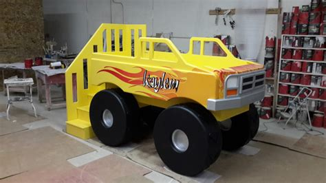 monster truck beds monster truck bed designed by tanglewood design