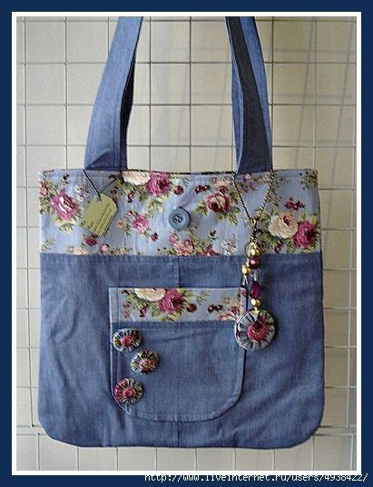 Tas Totebag Strawlicious Button Bst001 Blue 2988 best images about recycled jean crafts on jean bag denim skirts and recycled denim