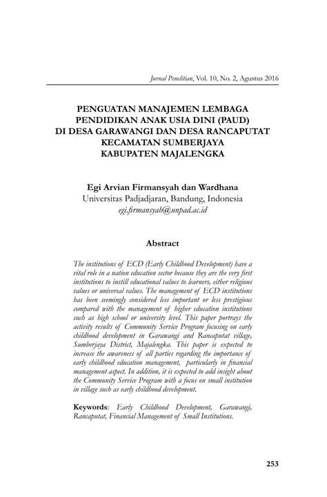 contoh proposal tesis manajemen keuangan daerah contoh jurnal ilmiah msdm contoh ii