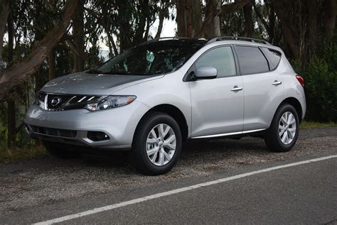 murano nissan 2012 2012 nissan murano sl fwd review car reviews and at