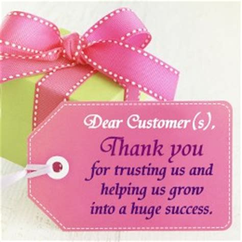 Brief Words Of Appreciation Customer Appreciation Quotes Quotesgram