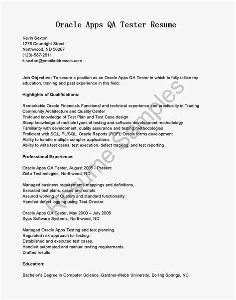 manual testing sle resumes wonderful resume qa tester analyst ideas exle resume