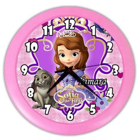 sofia wall clock 9 best images about wall clock on disney doc
