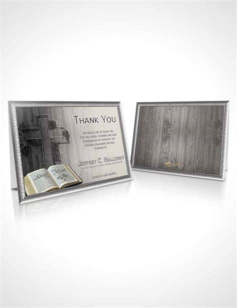 blessing card template thank you card template summer hardwood blessing