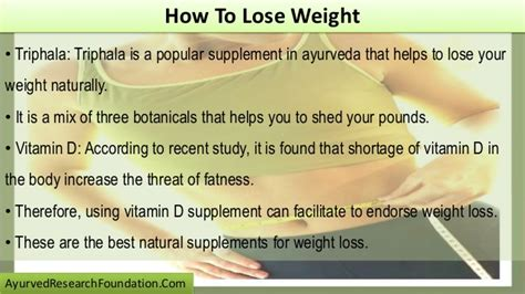 supplement to lose weight how to lose weight by using supplements