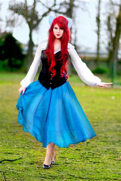 pattern for ariel blue dress ariel the little mermaid blue dress by katdivine22 on