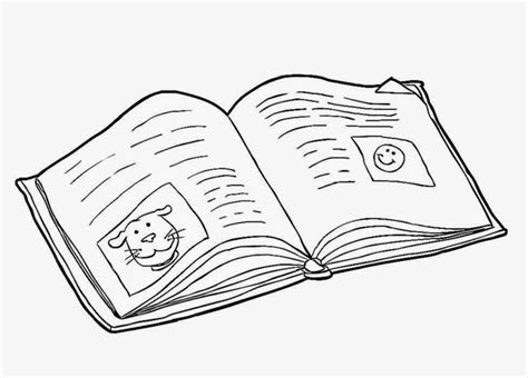 coloring book pages free open book colouring pages free clip