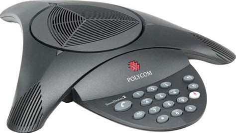 polycom analog desk phone polycom soundstation2 basic conference phone non