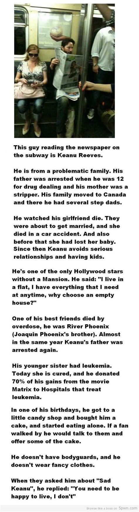 keanu reeves life biography a sad biography of keanu reeves hollywood actor social