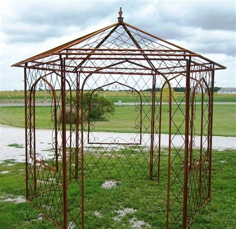 Metal Garden Arbor Smalltowndjs Com Metal Garden Arches And Pergolas