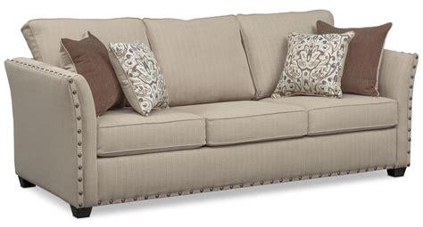 mckenna sofa sand american signature furniture