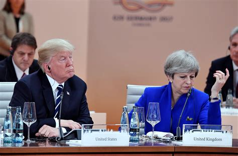 donald trump uk visit donald trump says trade deal with the uk will be completed