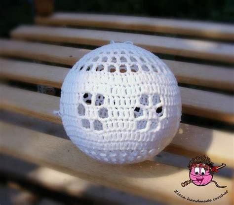 pattern christmas ball crochet christmas balls ornament pattern