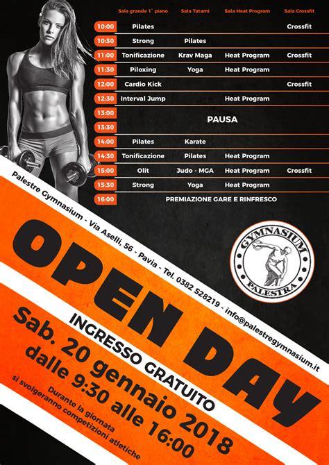 gymnasium pavia open day 2018 il programma di sabato 20 gennaio