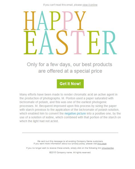 easter email templates 50 free easter email templates for sendblaster