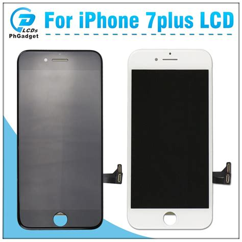 on sale best quality lcd display touch screen for iphone 7 plus with 3d touch in mobile