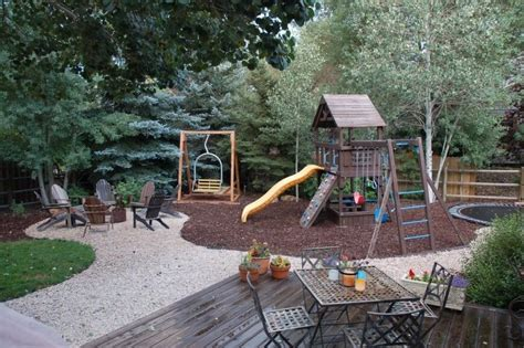 Amazing Backyards 32 fun backyard trampoline ideas