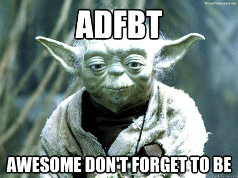 Funny Yoda Memes - yoda meme memes quickmeme