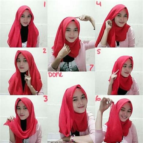 tutorial jilbab keren tutorial cara memakai kerudung dengan mudah jilbab instan