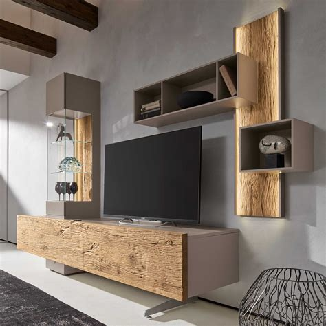 living room tv cabinet combination practical style the bohle tv wall unit will be a practical and stylish