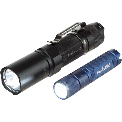 fenix ld 10 fenix ld10 and e05 flashlight set backcountry