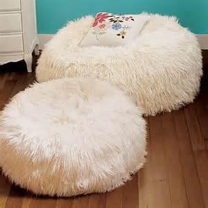 faux fur bean bag chairs