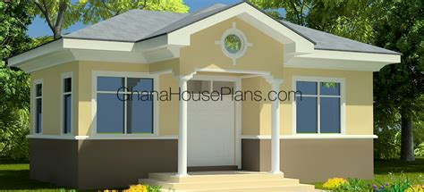 Bungalow House Plan by Ghana House Plans Ashford House Plan