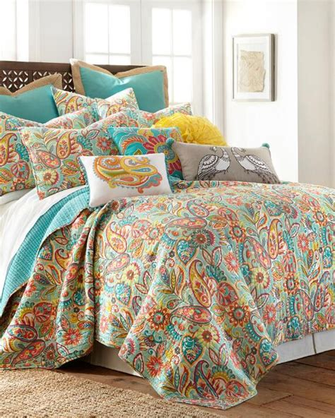 Paisley Quilt Print Quilts Bedding Bed Bath Stein Mart