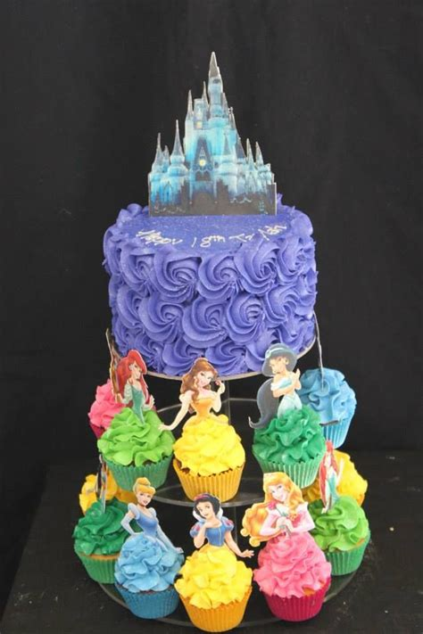 Princess Cake Decorations by 25 Best Ideas About Disney Princess Cupcakes On