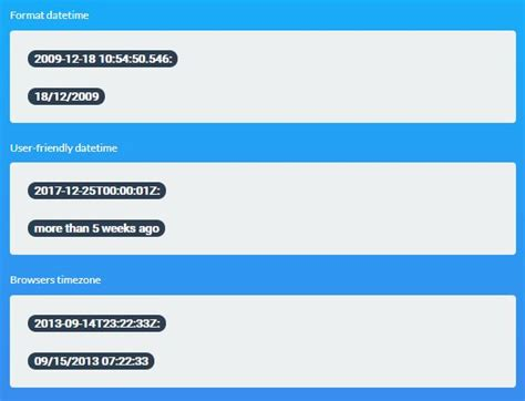 format date script compact and highly configurable jquery datepicker plugin