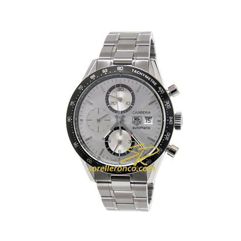 Tagheuer Cal 16 Silver vendita orologi occasione tag heuer sorelle ronco