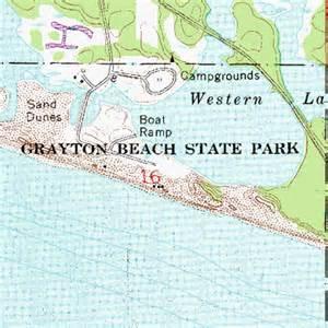 map of grayton florida grayton state park fl