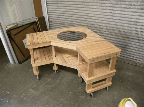 green plans big green egg table plans woodworking table plans