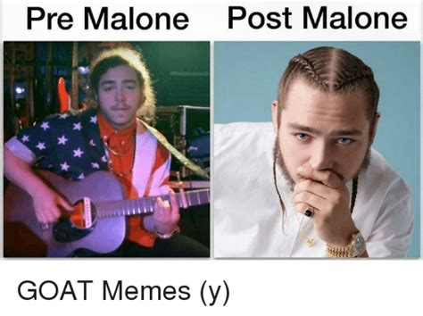 How To Post A Meme - pre malone post malone goat memes y meme on me me