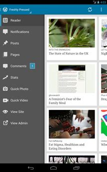 wordpress app updated to version 2.4 with new push