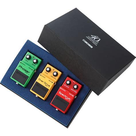 box set box 40 compact pedal 40th anniversary box set box 40 b h