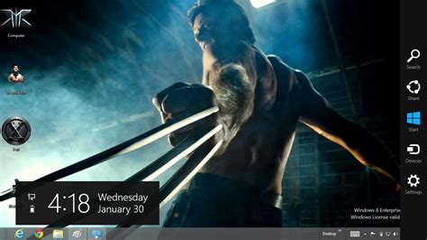 wolverine themes for windows 8 1 the wolverine windows 8 theme 13 july 2013 offical